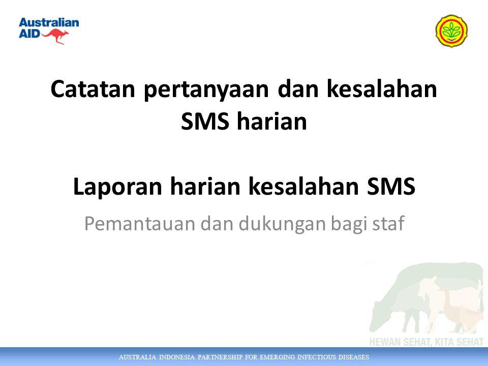 AUSTRALIA INDONESIA PARTNERSHIP FOR EMERGING INFECTIOUS DISEASES Anda seharusnya menerima email dari iSIKHNAS setiap hari.