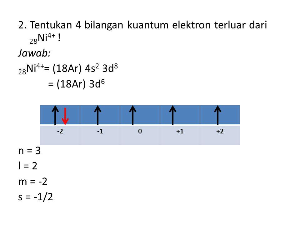 Orbital Adalah daerah kebolehjadian ditemukannya elektron di sekitar inti atom.