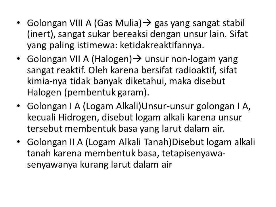 Contoh 1.Tentukan letak unsur berikut dalam SPU: a.