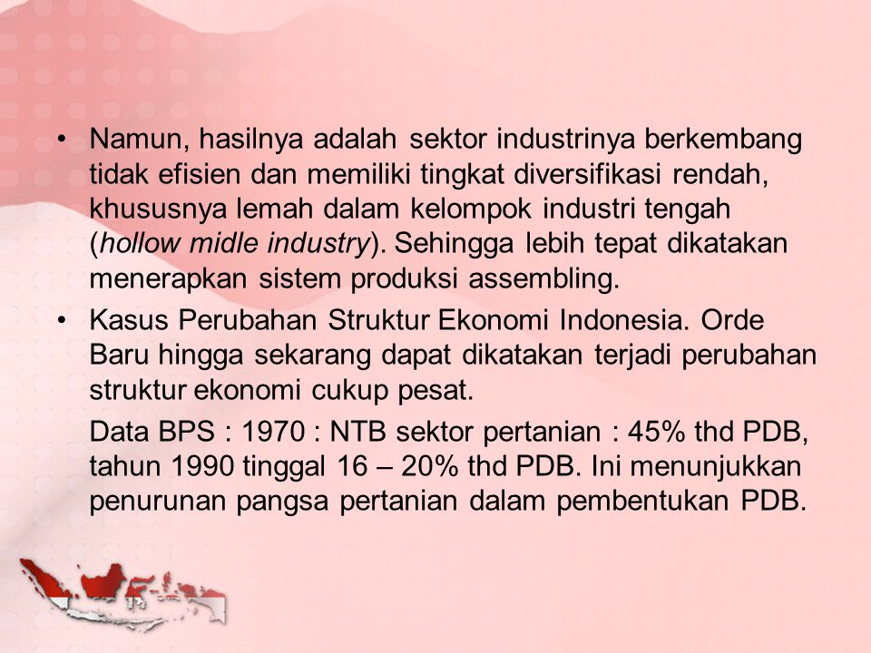 PDRB Indonesia 2005 - 2011 Produk Domestik Bruto Per Kapita, Produk Nasional Bruto Per Kapita dan Pendapatan Nasional Per Kapita, 2005-2011 (Rupiah) Deskripsi 200520062007200820092010*2011** Atas Dasar Harga Berlaku Produk Domestik Bruto Per Kapita 12,557,512.9214,892,059.8717,360,535.0221,424,748.4523,913,985.2927,084,008.2030,812,926.11 Produk Nasional Bruto Per Kapita 11,946,446.3814,257,576.6216,646,564.5620,663,361.4223,076,985.4626,322,486.0429,934,685.89 Pendapatan Nasional Per Kapita 11,075,415.4913,075,282.0215,285,571.3019,141,673.4520,964,887.5724,020,664.8327,648,408.93 Atas Dasar Harga Konstan 2000 Produk Domestik Bruto Per Kapita 7,924,894.318,237,716.528,631,408.439,015,742.159,294,167.919,736,695.1110,219,309.82 Produk Nasional Bruto Per Kapita 7,438,841.617,729,941.078,101,642.278,597,543.558,825,719.629,345,382.159,819,153.13 Pendapatan Nasional Per Kapita 6,885,535.657,070,876.157,422,254.547,950,282.788,005,165.758,516,999.439,130,326.19 Keterangan: *) Angka Sementara **) Angka Sangat Sementara