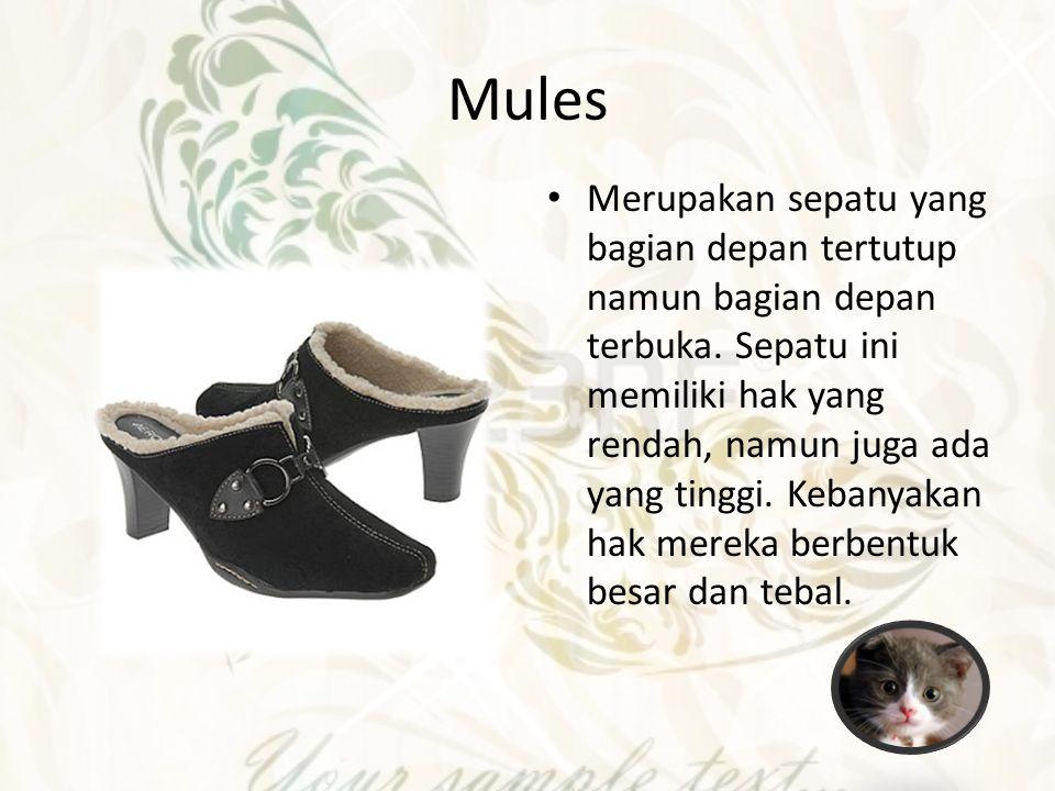 Jenis Sepatu dan Sandal Pria