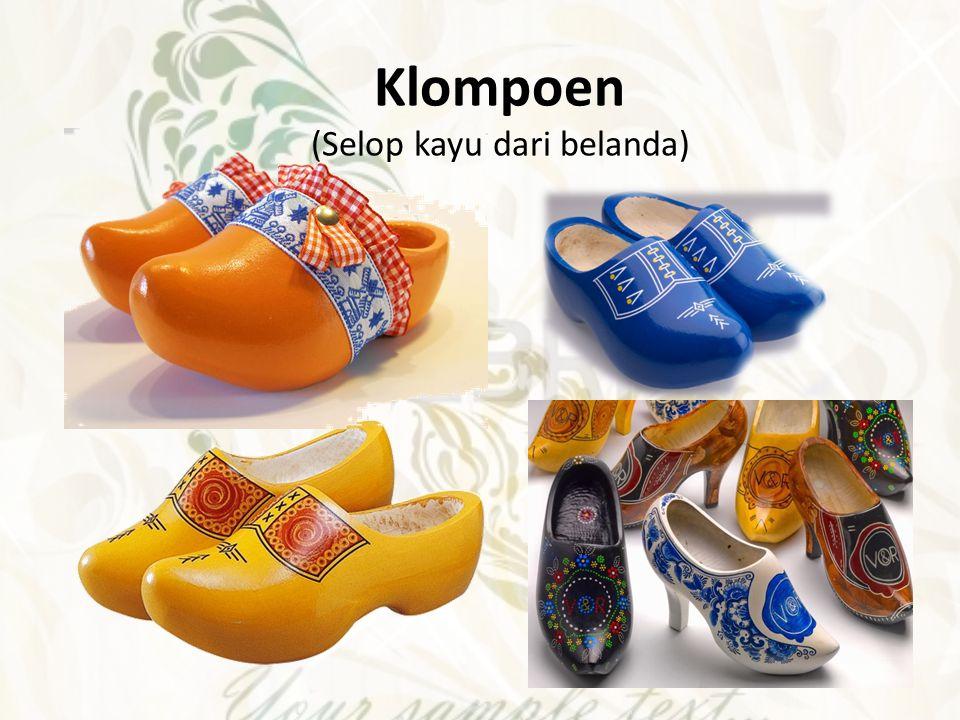 Geta sandal kayu dari Jepang