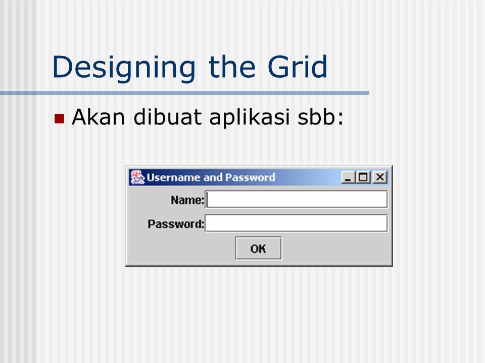 Designing the Grid