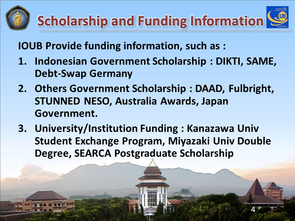 Gaining Higher Education Network for international activity from : Kemenlu : Embassy/Consulate Int.