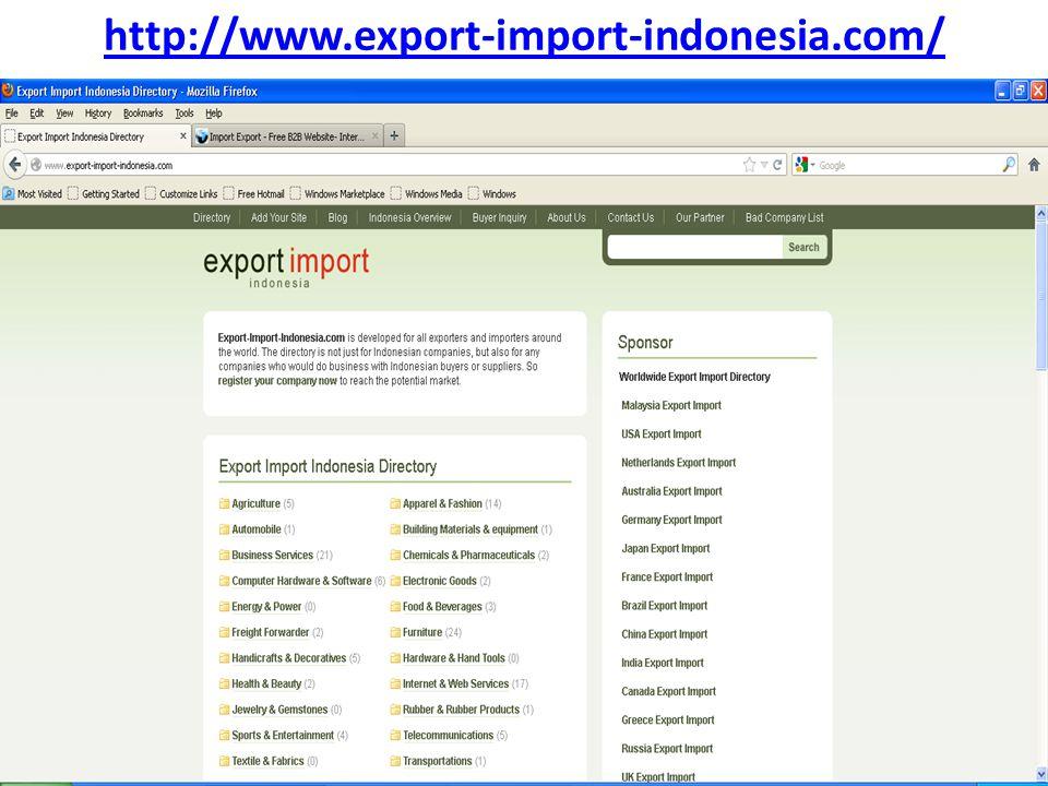 http://www.importexportplatform.com/default.asp
