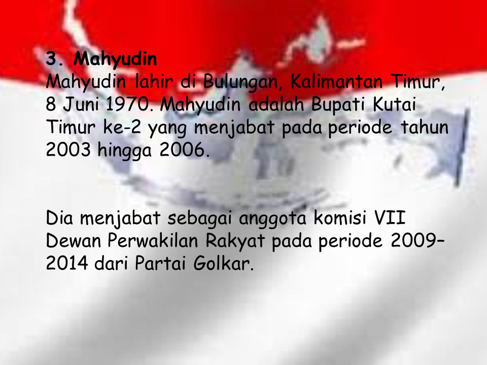 4.Hidayat Nur Wahid Hidayat Nur Wahid lahir di Kebon Dalem Kidul, Prambanan, Klaten, Jawa Tengah.