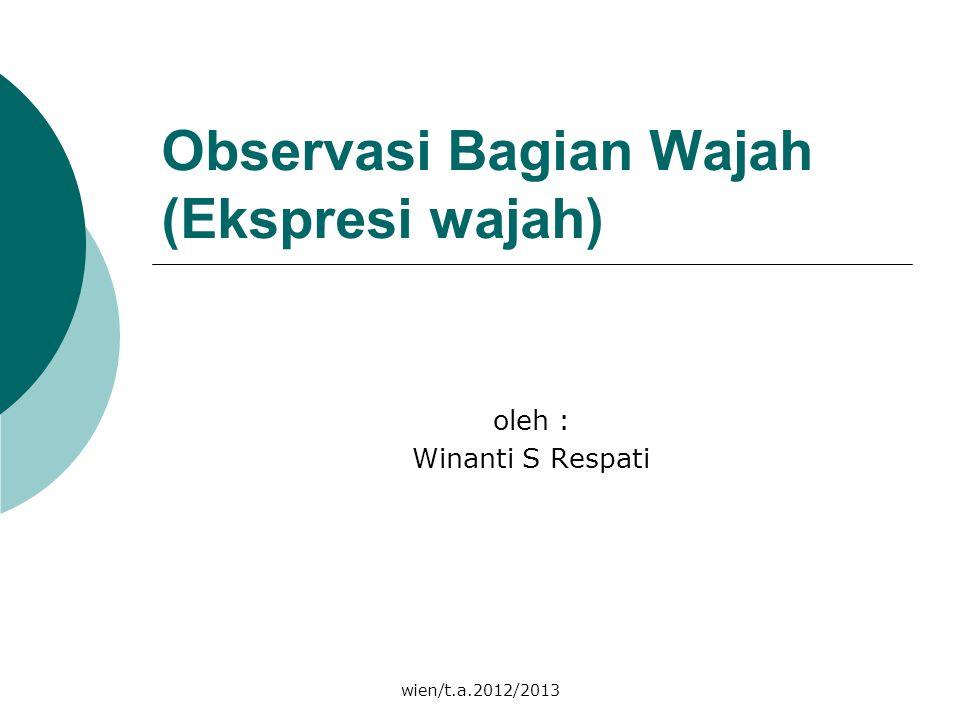 wien/t.a.2012/2013 Pernyataan pd wajah.