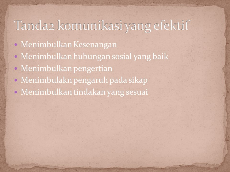 4 oreintasi corak dimiliki oleh individu (Kanani dkk.