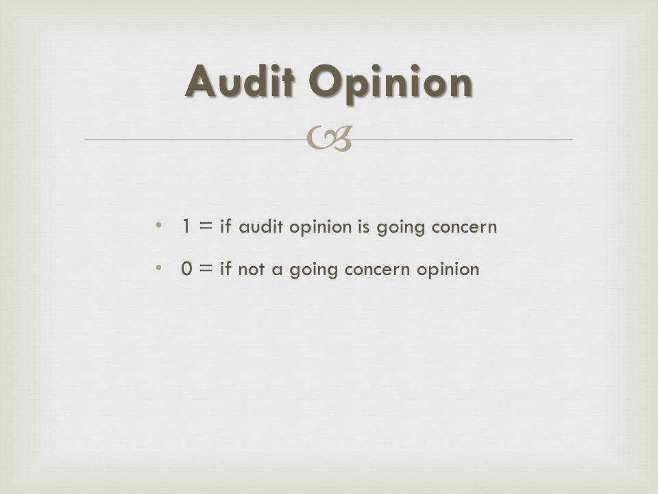  1 = Adequate Disclosure 2 = Fair Value Disclosure 3 = The Full Disclosure Financial Report Disclosure