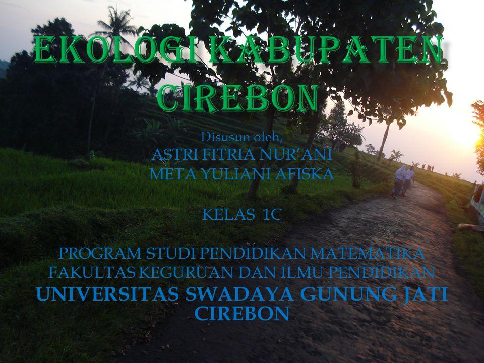Disusun oleh, ASTRI FITRIA NUR'ANI META YULIANI AFISKA KELAS 1C PROGRAM STUDI PENDIDIKAN MATEMATIKA FAKULTAS KEGURUAN DAN ILMU PENDIDIKAN UNIVERSITAS SWADAYA GUNUNG JATI CIREBON