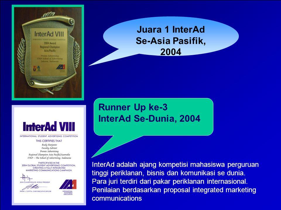 13 Juara 2 InterAd Se-Asia Pasifik, 2005