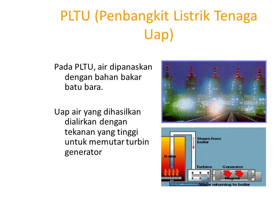 Pembangkit listrik tenaga angin Kincir angin dihubungkan ke turbin generator.