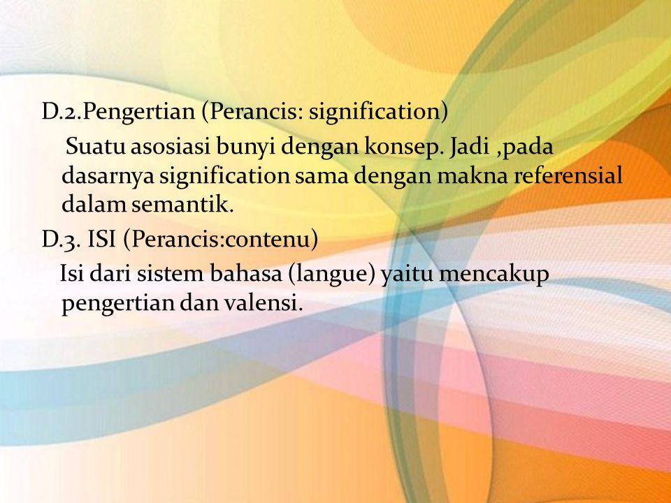 D.4.Identitas Bahasa Identitas bahasa adalah unik, karena  Misalnya: setiap say a menyebut kata yang sama,saya memperbaharui materinya sehingga terjadi tindak pembunyian yang baru serta tindak psikologis yang baru.