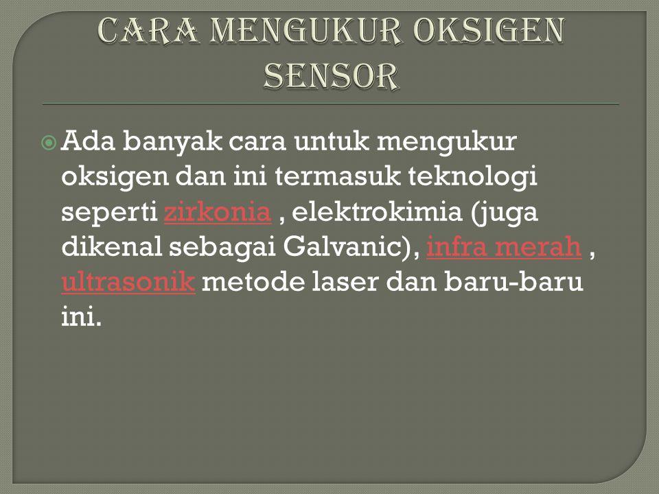 Sensor zirconia (zirconia oxigen sensor)
