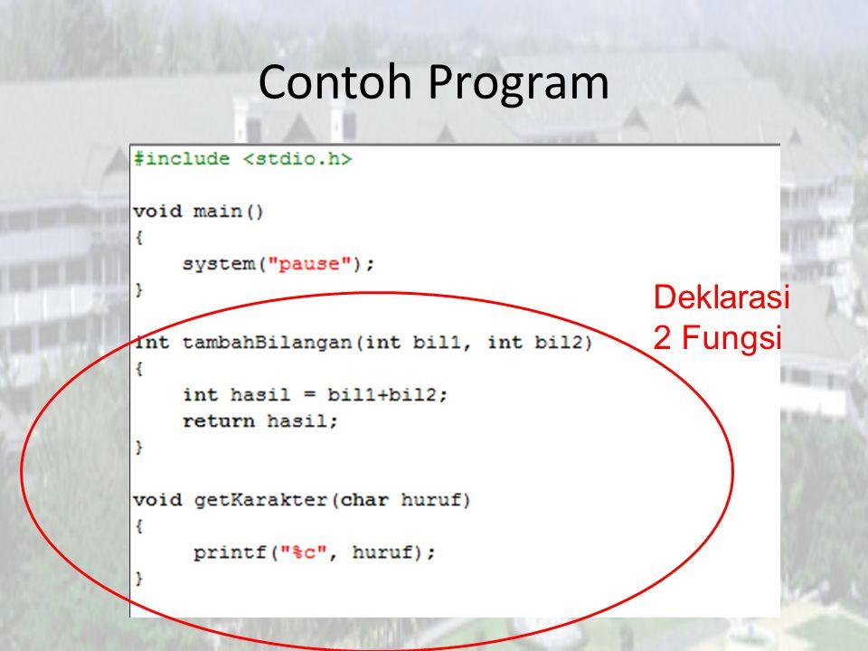 Why?!.Apa yang terjadi bila program sebelumnya di- compile??.