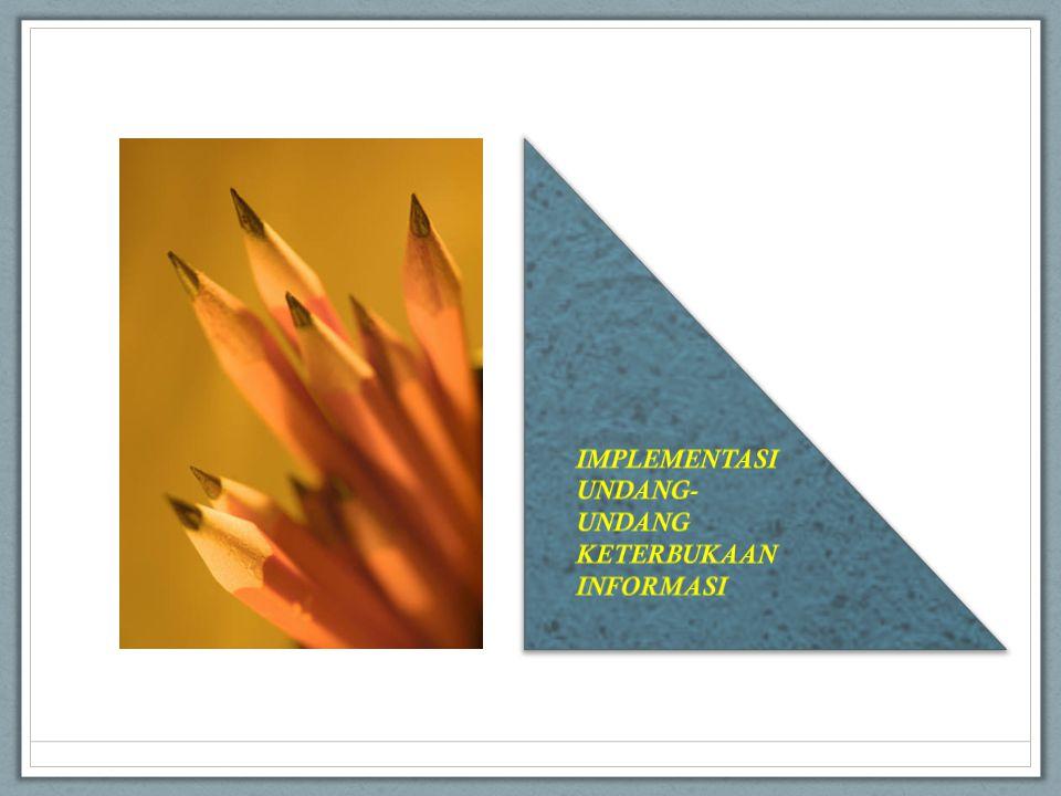 Informasi mengenai laporan keuangan dari Badan Publik; Informasi mengenai kegiatan dan kinerja Badan Publik terkait; Informasi yang diatur dalam Peraturan Perundang-undangan; 1) Informasi yang wajib disediakan dan diumumkan secara berkala (Pasal 9 UU KIP) KEMENTERIAN KOMUNIKASI DAN INFORMATIKA 16 LAKSANAKAN KEWAJIBAN DASAR BP