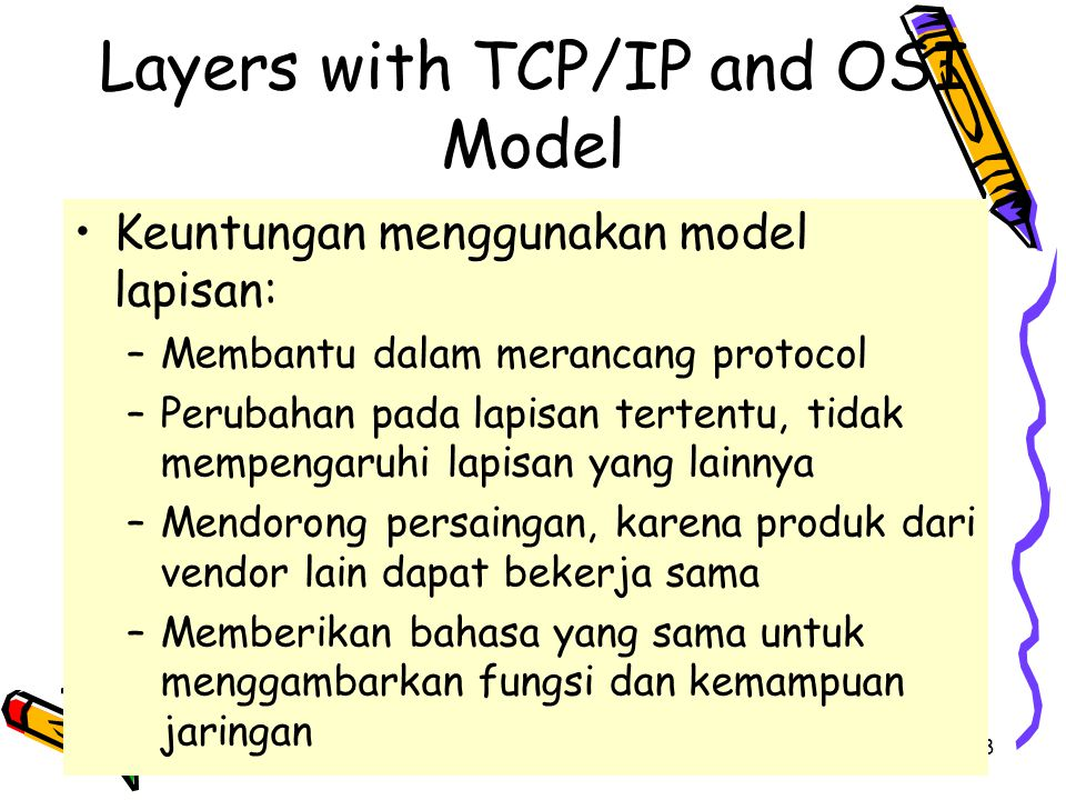 4/19/201549 Layers with TCP/IP and OSI Model
