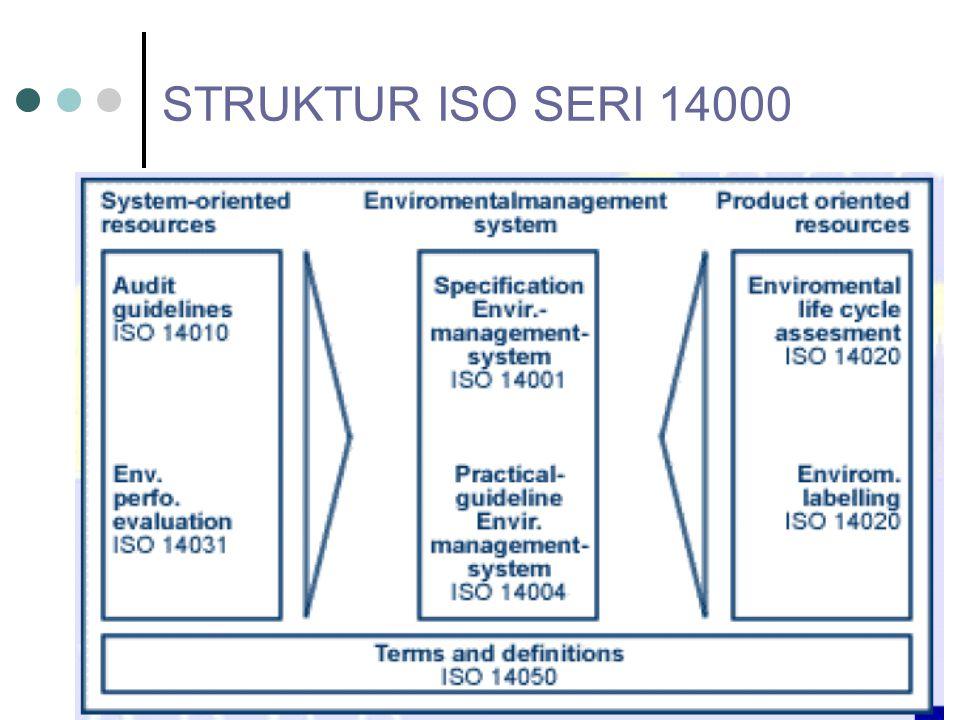 STRUKTUR ISO SERI 14000