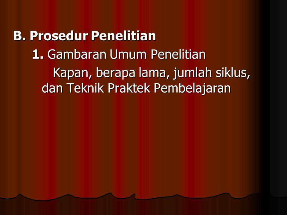 2.Rincian Prosedur Penelitian a. Tahapan persiapan tindakan a.