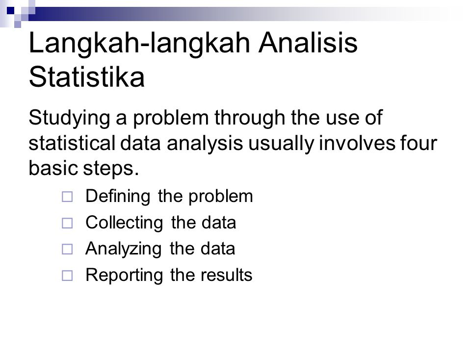Defining the Problem An exact definition of the problem is imperative in order to obtain accurate data about it.