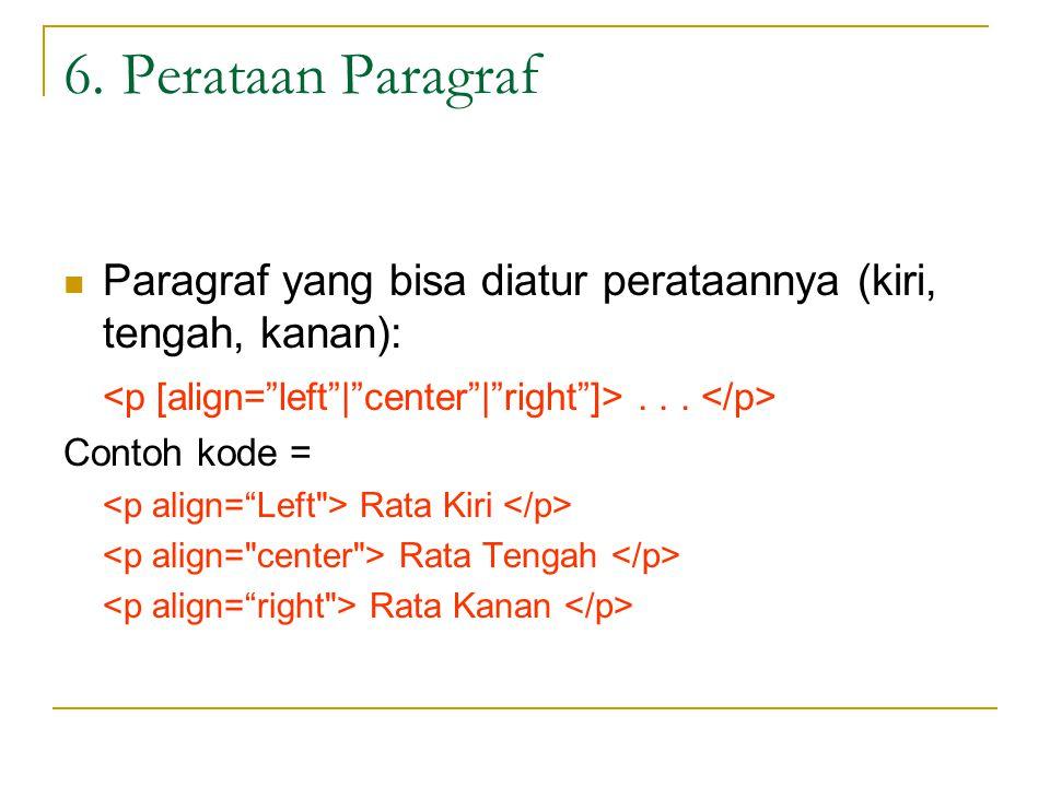 Latihan Perataan teks rata kiri tengah kanan Rata Kiri Rata Tengah Rata Kanan