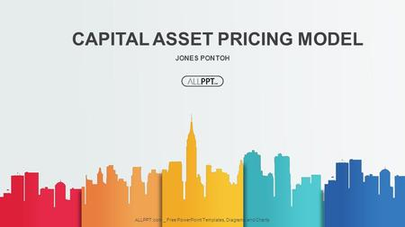 JONES PONTOH CAPITAL ASSET PRICING MODEL ALLPPT.com _ Free PowerPoint Templates, Diagrams and Charts.