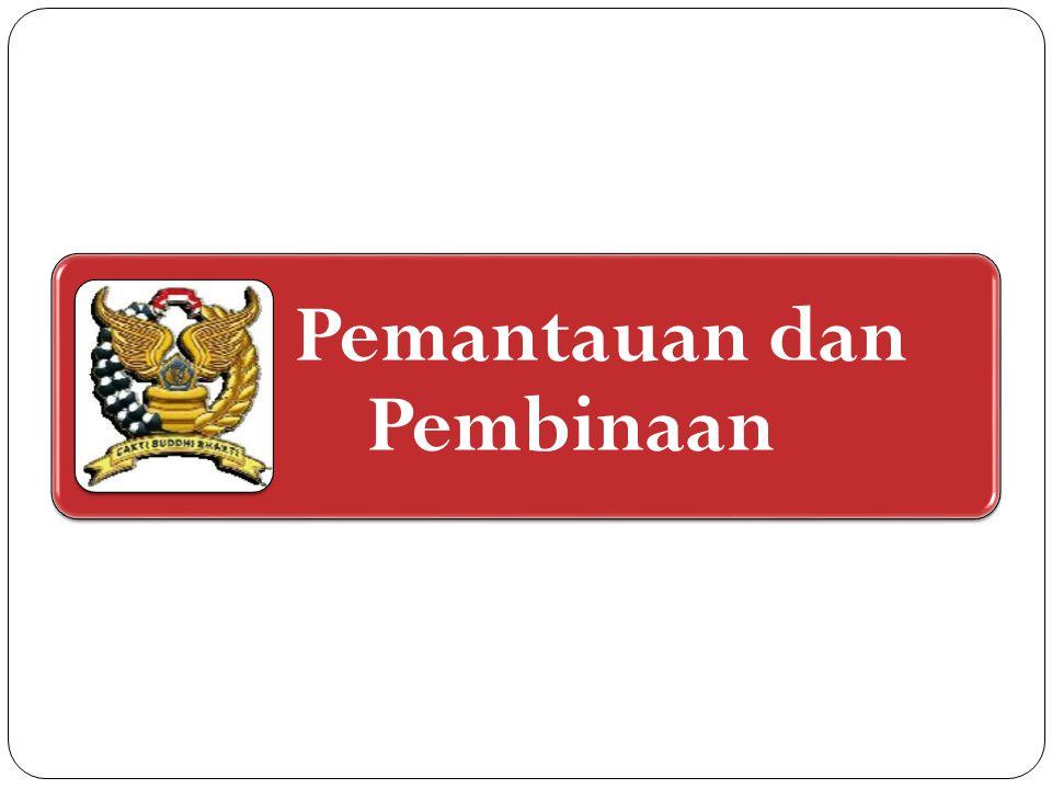 Pemantauan dan pembinaan terhadap pelaksanaan tahapan persiapan pengalihan kewenangan pemungutan PBB P2 & BPHTB dilakukan oleh: Kementerian Keuangan; dan Kementerian Dalam Negeri.