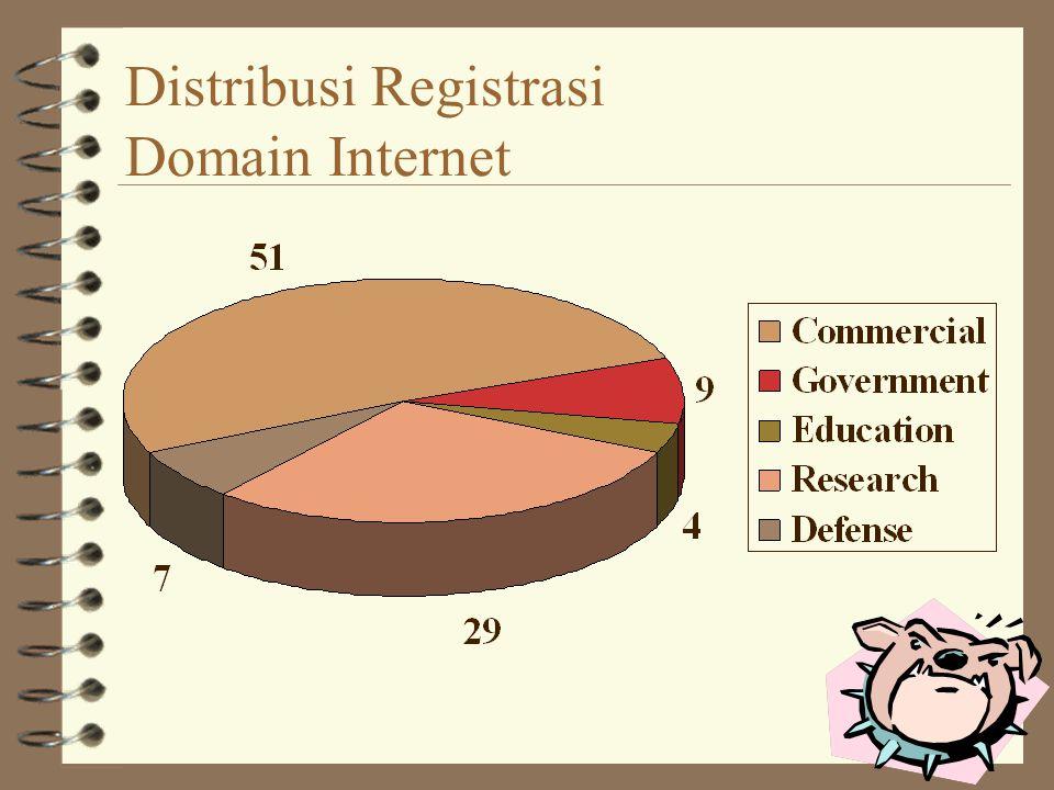 Distribusi Registrasi Domain Internet