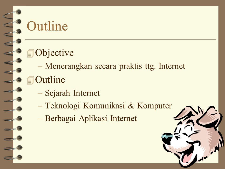 Outline 4 Objective –Menerangkan secara praktis ttg.