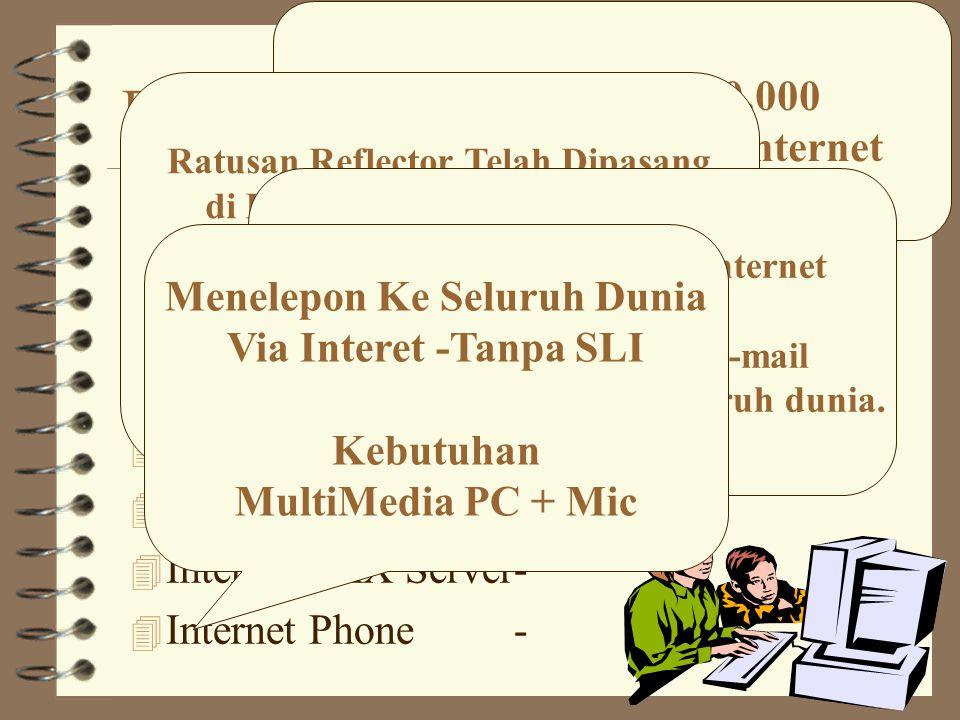 Beberapa Servis Internet 4 e-mailcnrg@itb.ac.id.