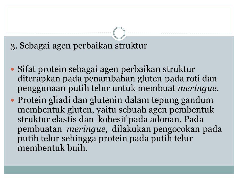 4.Pemanis Protein yang dapat berperan sebagai pemanis adalah Aspartame.