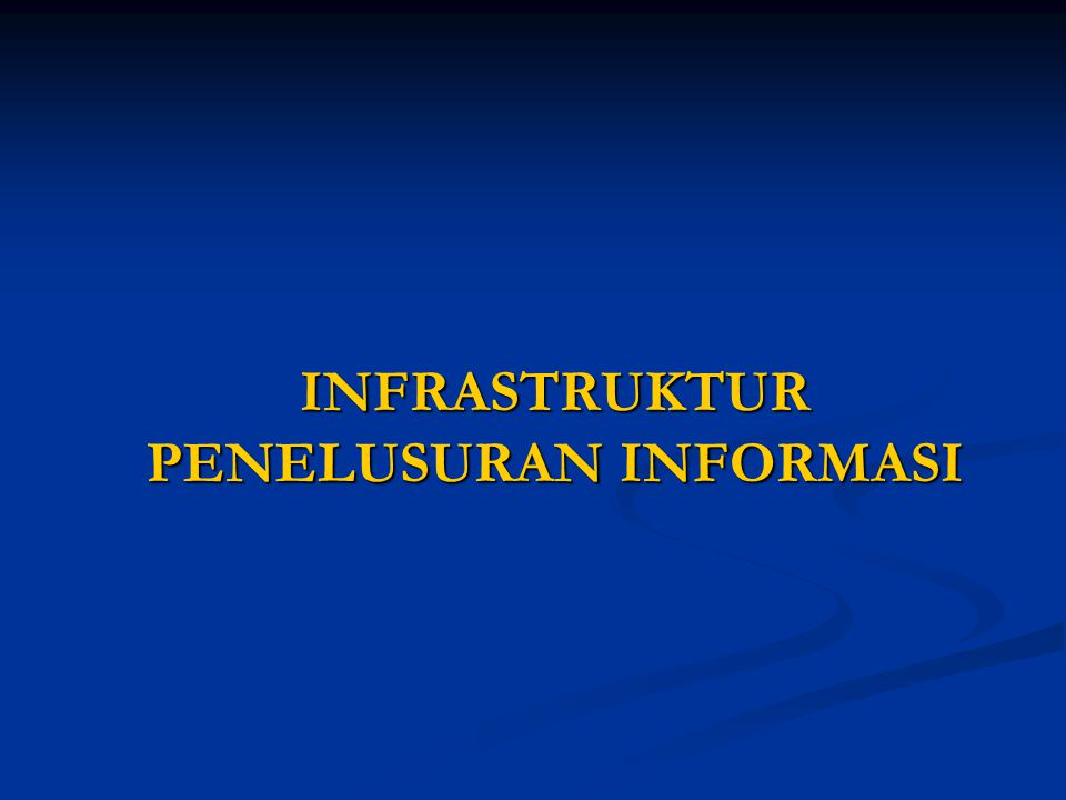 INFORMATION SEEKERS 1.Persons as private 2.Students 3.Experts (professionals) 4.Researchers 5.Milling lists (discussion group) 6.Libraries 7.Organisations 8.Officers 9.Information centers 10.Information services