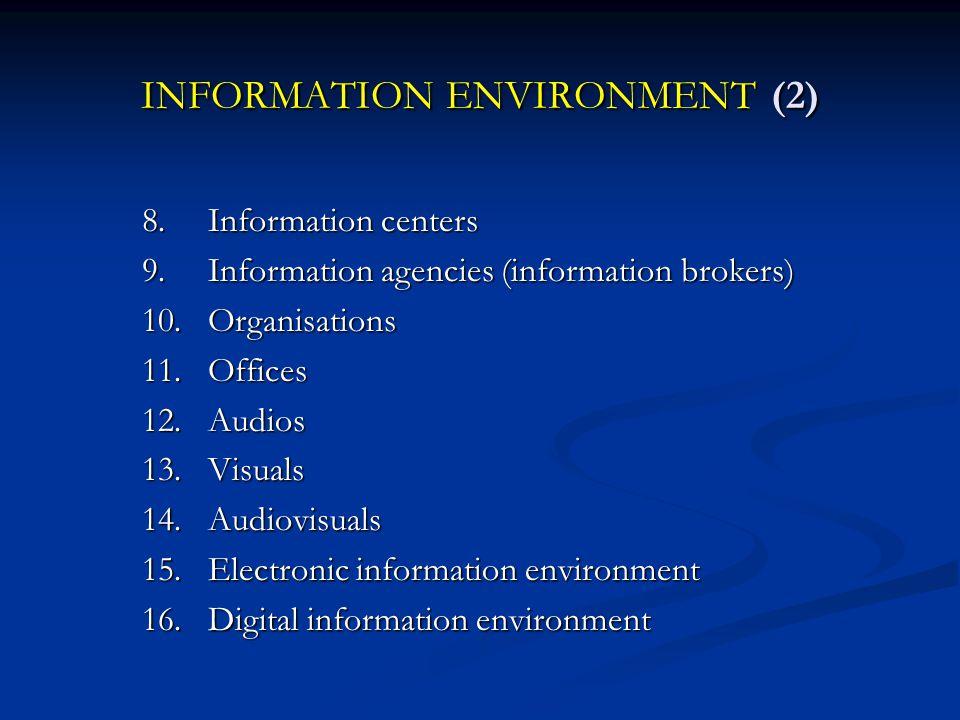 INFRASTRUKTUR PENELUSURAN INFORMASI Refrensi : 1.BROGMAN, Christine L.