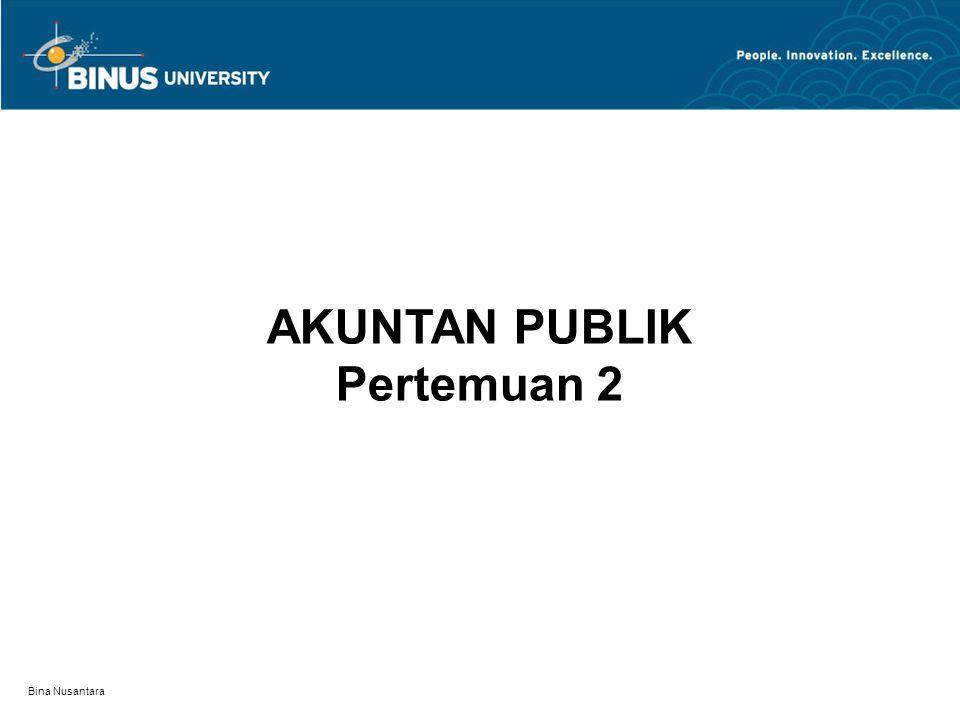 Bina Nusantara Akuntan Publik
