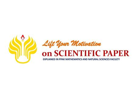 Lift Your Motivation on SCIENTIFIC PAPER
