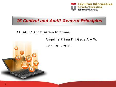 IS Control and Audit General Principles