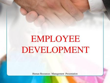 Human Resources Management Presentation