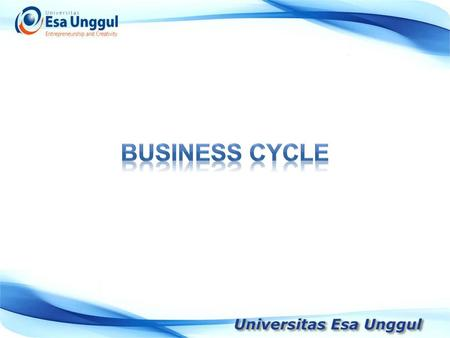 BUSINESS CYCLE.
