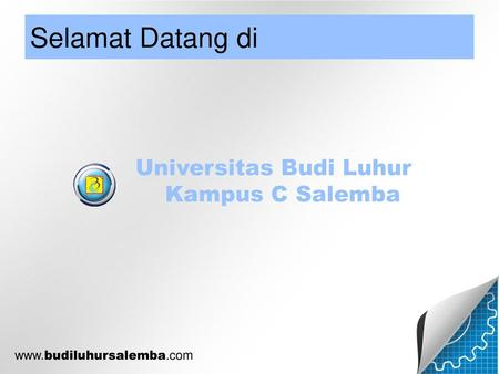 Universitas Budi Luhur Kampus C Salemba