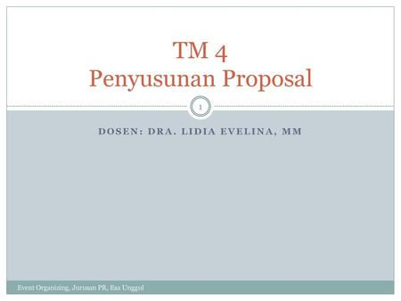 TM 4 Penyusunan Proposal