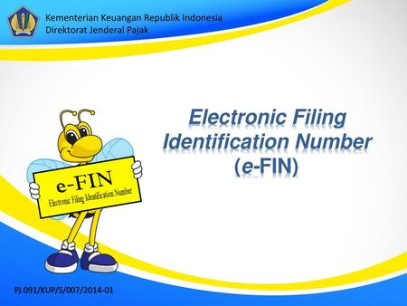 Electronic Filing Identification Number