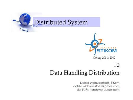 10 Data Handling Distribution
