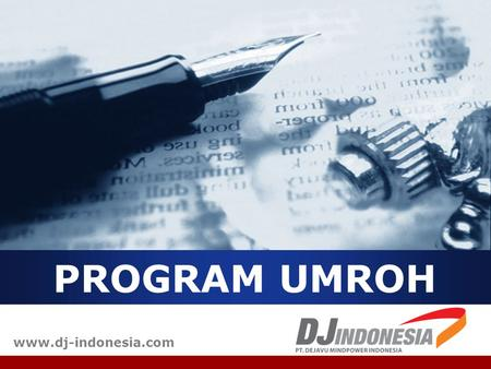 PROGRAM UMROH www.dj-indonesia.com.