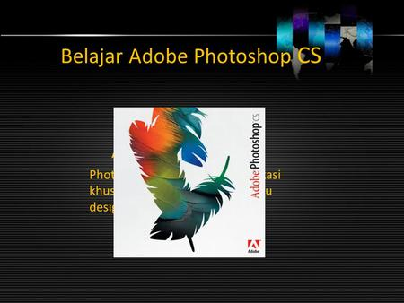 Belajar Adobe Photoshop CS