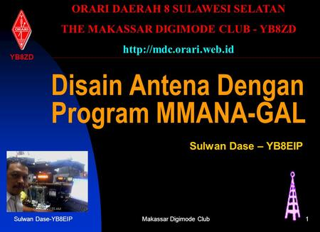 Disain Antena Dengan Program MMANA-GAL