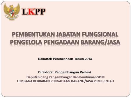 Peraturan pemerintah pp 46 tahun 2013