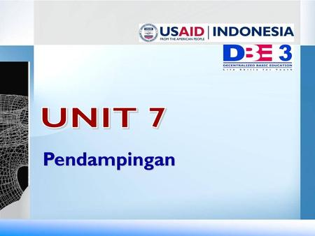 UNIT 7 Pendampingan.