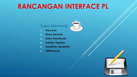 Rancangan INTERFACE PL