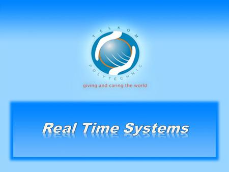 Real Time Systems.