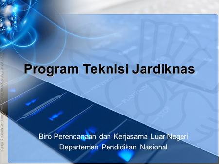 Program Teknisi Jardiknas